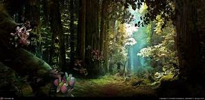 Enchanted forest by Christian Kaluzny | 2D | CGSociety