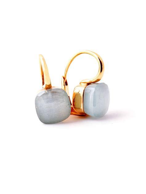 pomellato shop pomellato nudo aquamarine earrings at