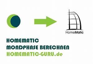 Mond Berechnen : homematic mondphase berechnen homematic ~ Themetempest.com Abrechnung