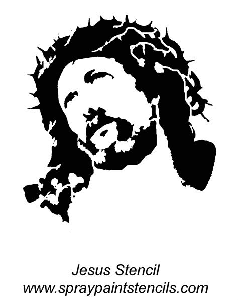 Outline of jesus face tattoo, tattoo drawing software free