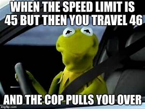 kermit the frog driving issues - Imgflip