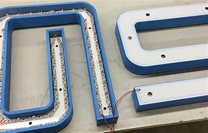 laser cutting inc led halo channel letters With laser cut foam letters