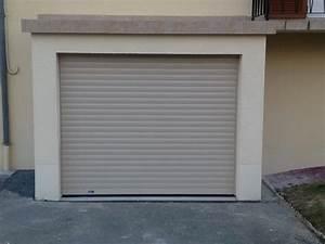 portes de garage With porte de garage enroulable avec menuiserie intérieure bois