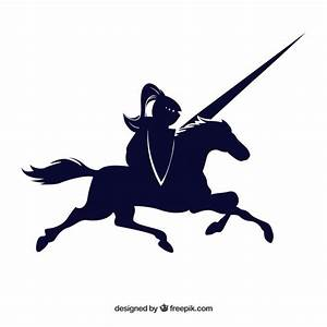 Knight horse black drawn icon vector Vector | Free Download