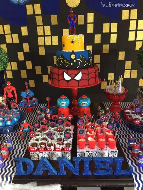 Festa Homem Aranha do Daniel Baú de Menino
