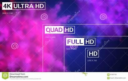 Resolution Uhd Ultra Quad Vector Presentation 4k