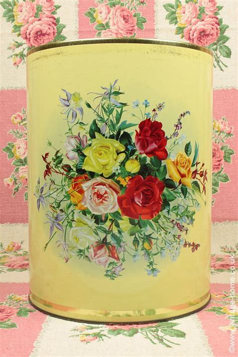 vintage kitchen storage tins 25 best ideas about painted trash cans on 6834