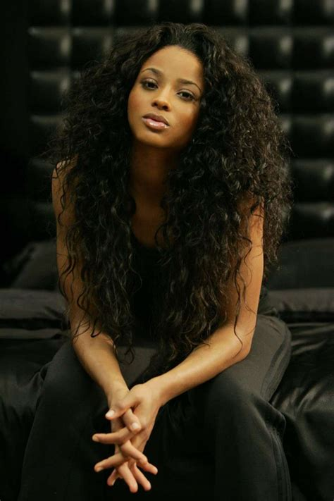 Ciara Curly Hairstyles by 30 Mind Blowing Curly Weave Hairstyles Creativefan