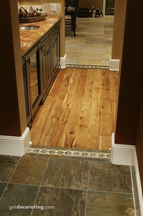 wood and tile floor it for the home
