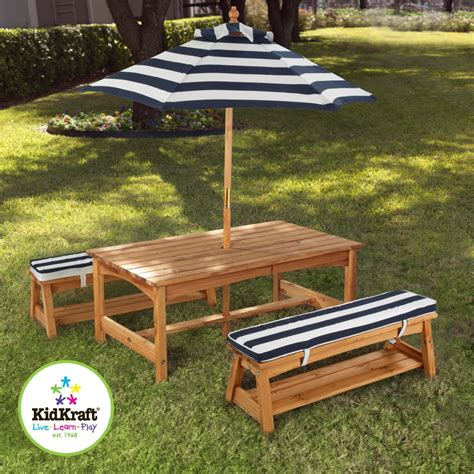 kids outdoor table and chairs kidkraft outdoor kids table and chairs set 2 chair benches