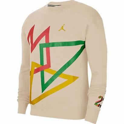 Jordan Dna Fleece Crew Oatmeal Nike Hbr