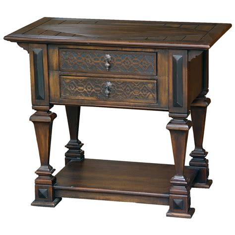 narrow side table with drawers end tables with drawers decofurnish