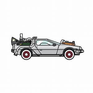 Doc's DeLorean on Student Show
