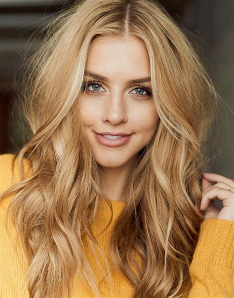 Golden Hair Color by Multi Dimensional With Shades Range From Golden