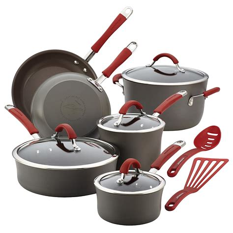 cookware anodized hard sets pan pot types rachael ray steel ceramic calphalon amazon piece why nonstick reasons handles simply