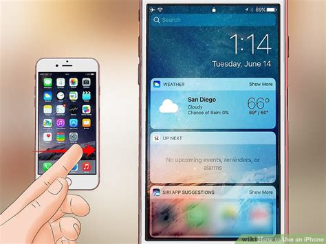 how to use an iphone how to use an iphone with pictures wikihow