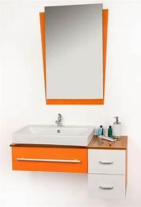 Salle De Bain Orange : meuble de salle de bain des exemples beaux joueurs ~ Preciouscoupons.com Idées de Décoration