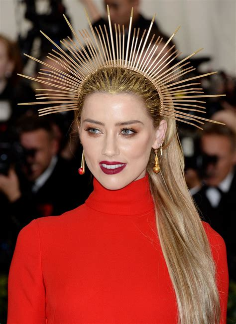 Amber Heard At Met Gala 2018 In New York 05072018