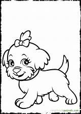 Coloring Dog Catcher Template sketch template