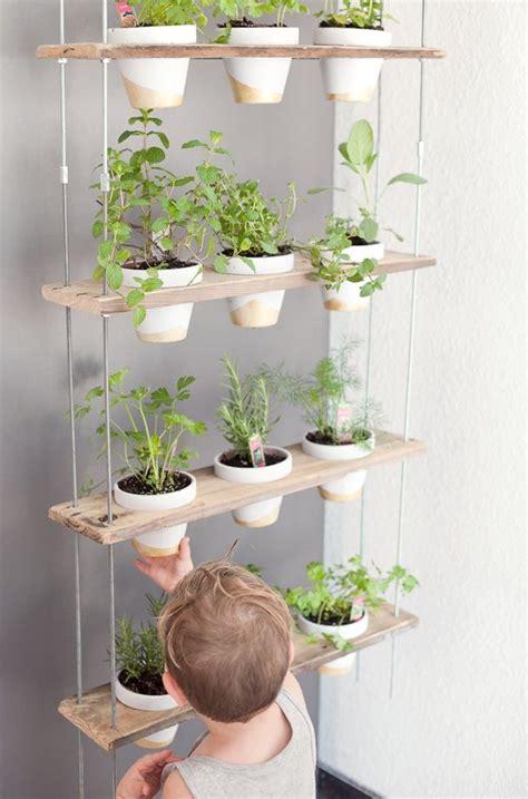 ideas   stylish indoor kitchen herb garden