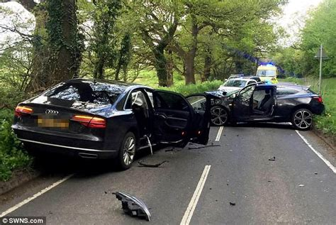 Russell Brand's Mother Is Injured In Car Crash