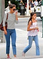 Katie Holmes matches her look alike daughter Suri Cruise ...