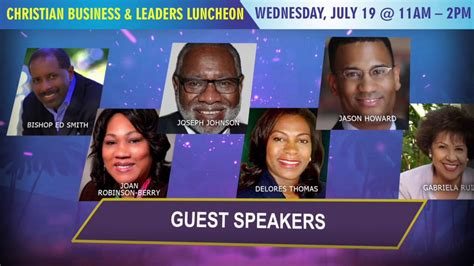 purpose conference christian business leaders luncheon