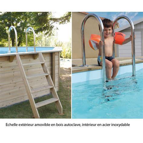 piscine semi interieur exterieur interesting pyla e xcm abri tlescopique semihaut pour piscine