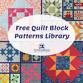 free quilt block patterns free quilt block patterns library