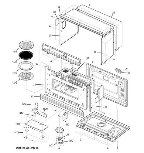 ge model zscfss built  microwave