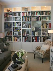billy bookcase hack home library design home library