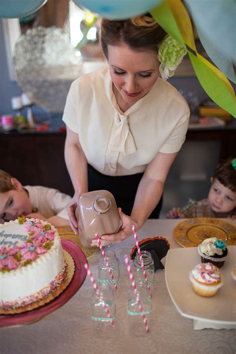 1940s Vintage Birthday Party Inspiration