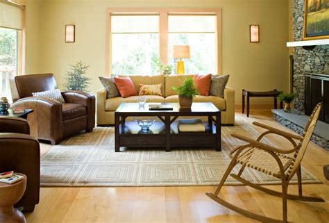 Bungalow Living Room Design by Mid Century Bungalow