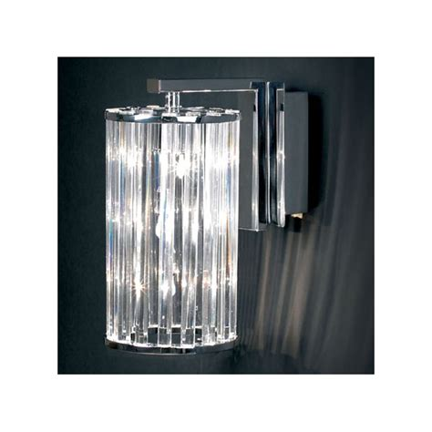 endon 805 3wb crystal wall light endon 3 light modern