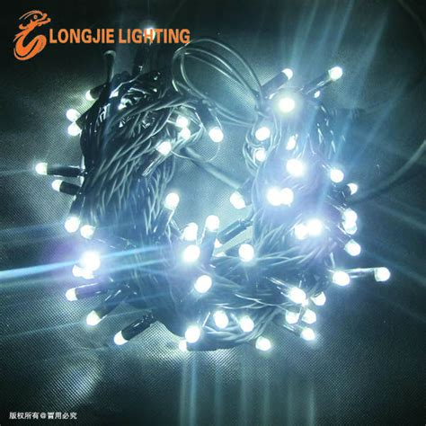 outdoor light strings low voltage powered led string