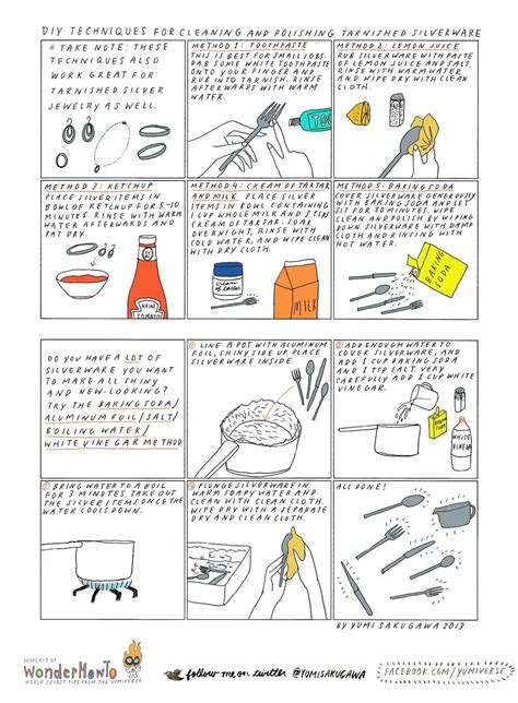 6 Easy DIY Ways to Clean & Polish Tarnished Silverware