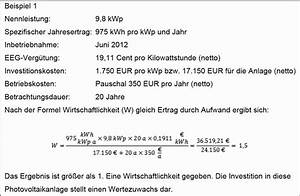 Ertrag Photovoltaik Berechnen : lohnt sich das noch wie wirtschaftlich sind pv anlagen wie hoch ist die rendite und was gibt ~ Themetempest.com Abrechnung
