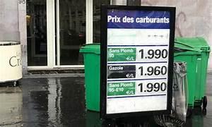 Prix Essence Sans Plomb 95 : paris le sans plomb 95 presque deux euros le litre ~ Maxctalentgroup.com Avis de Voitures