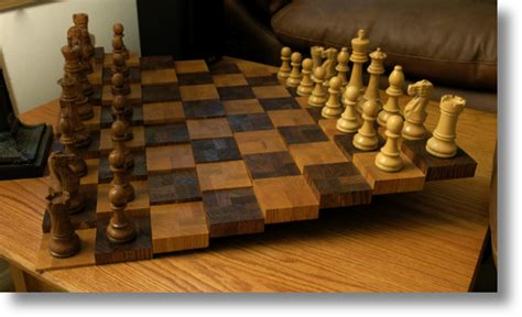 Woodworking Plans Chess Board