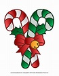 Christmas candy cane clipart - Clipartix