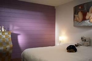 lames larges et couleurs pour ce lambris plus de 20 With choix de couleur de peinture pour salon 18 chambre lambris bois
