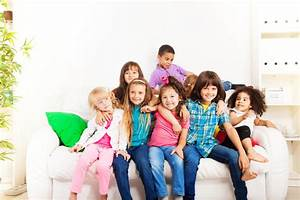 Best friends forever stock image. Image of couch, kids ...