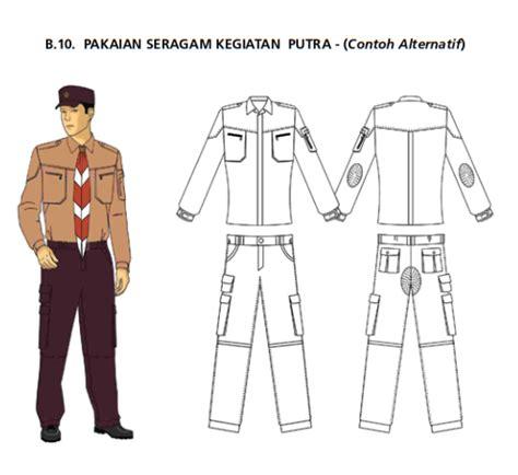 pakaian seragam anggota gerakan pramuka terbaru