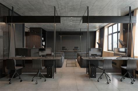 modern office interior  zooi design studio  behance