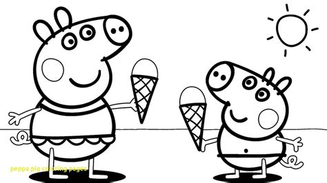 peppa pig coloring pages  peppa pig coloring page