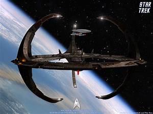 Star Trek Space Station And Nebula Class Starship, free ...