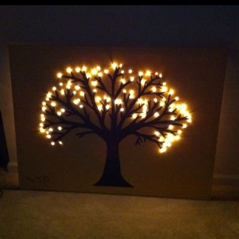 25 best lighted canvas ideas on canvas