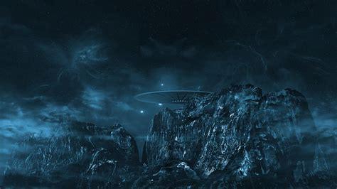 illustration ufo cosmos   alien