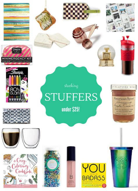 holiday gift guide stocking stuffers under 25 how