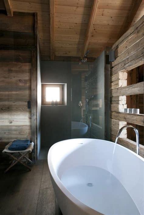 salle de bain esprit chalet solutions pour la d 233 coration